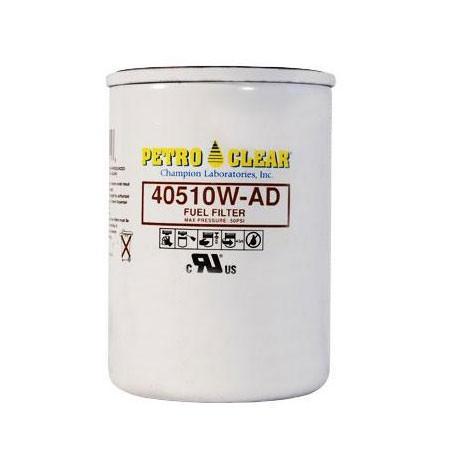 "PetroClear 40510W-AD 10 Micron Fuel Filter (1"" flow)"