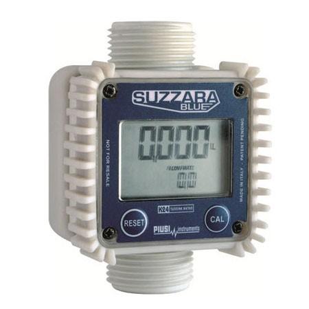 """Piusi F00407340 Suzzara Blue 1"""" BSP K24 DEF Meter"""