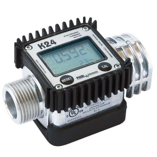 Piusi F00408U00 K24-UL Turbine Digital Meter (2 - 32 GPM)