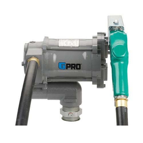 GPI PRO20-115AD 115 Volt GPRO High-Flow Fuel Transfer Pump w/ Auto Diesel Nozzle(20 GPM)