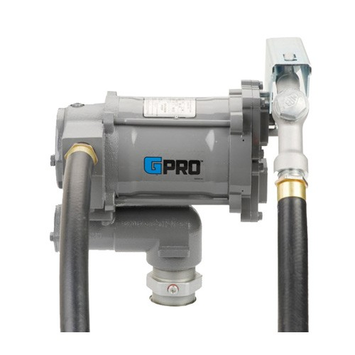 GPI PRO20-115MD 115 Volt GPRO High-Flow Fuel Transfer Pump w/ Manual Diesel Nozzle (20 GPM)
