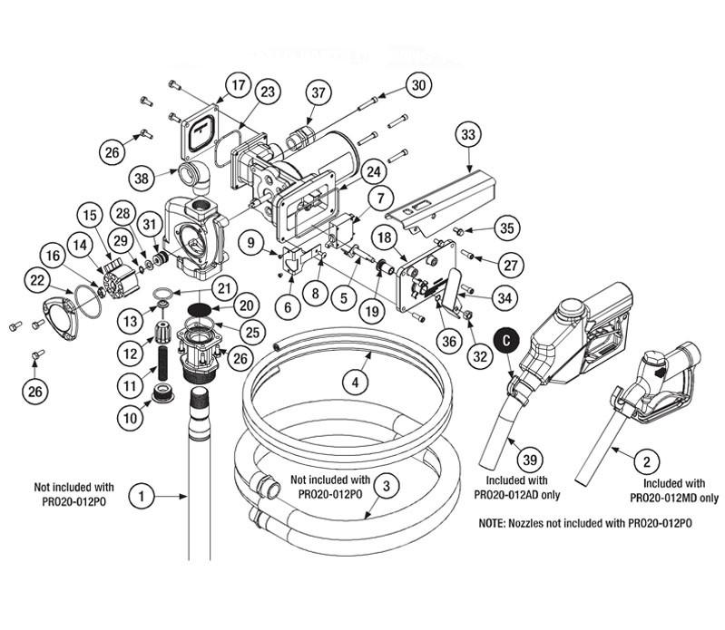 GPI 501010-01 12GA, 18' Power Cord