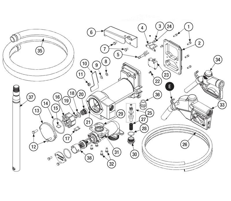 GPI 144133-01 10/2 x 10' Cord Assembly