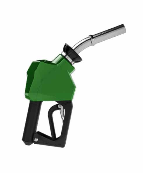 "OPW 14C-0100 - 3/4"" Green Diesel Nozzle"