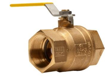 "Franklin Fueling BV150FPBRASS FLEX-ING™ 1 1/2"" Full Port Brass Ball Valve"