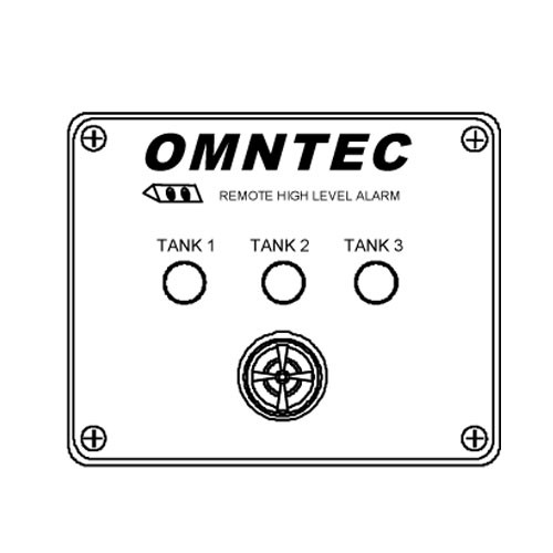 Omntec RA-3 Three Tank High Level Remote Annunciator