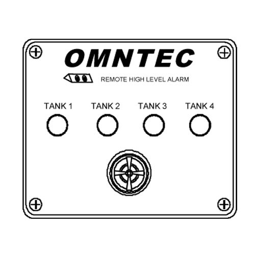 Omntec RA-4 Four Tank High Level Remote Annunciator