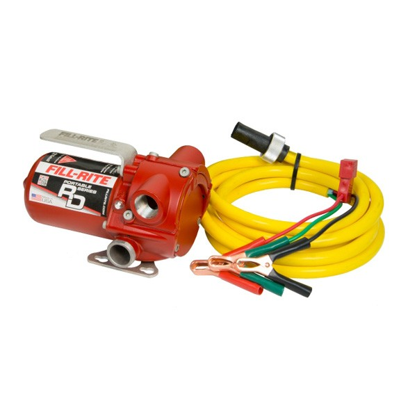 Fill-Rite RD812NN 12V DC Portable Fuel Transfer Pump (8 GPM) (Pump Only)