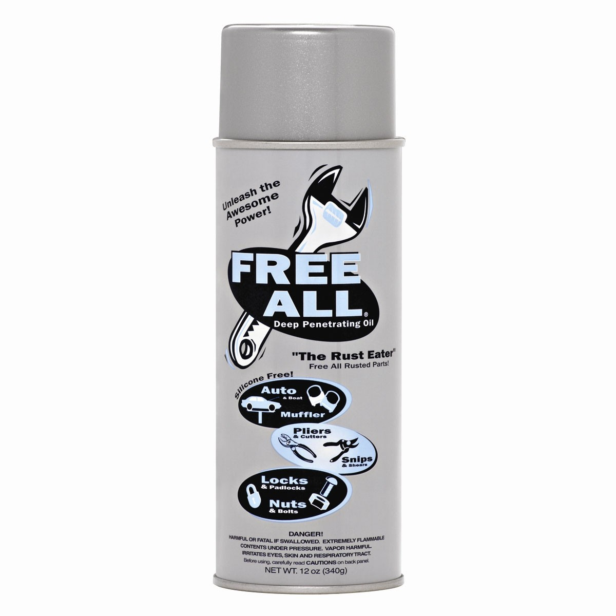 Gasoila RE-12 Free All Deep Penetrating Oil (12 oz)