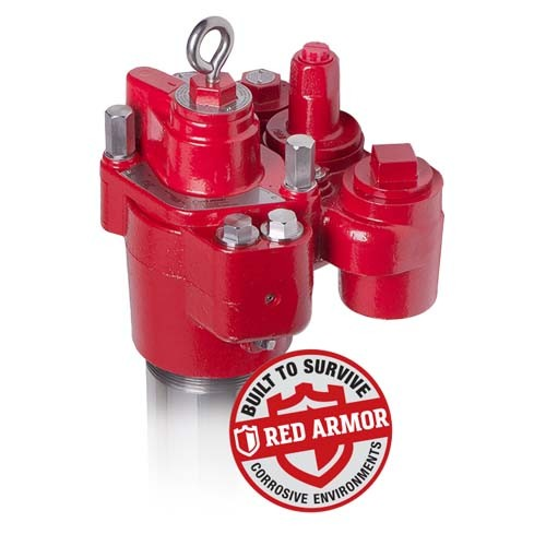 "Red Jacket 410140-019 Red Armor Submersible Turbine Pump (72"" - 102"")"