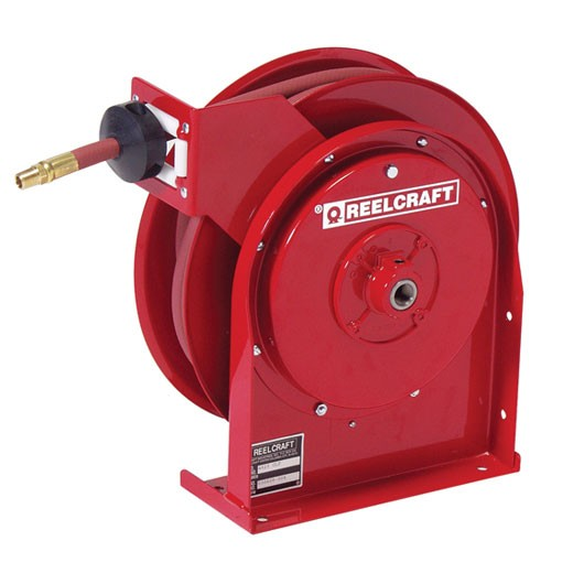 "Reelcraft 5430OHP - 1/4""X30' Grease Reel with Hose"