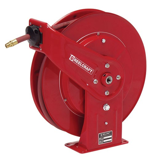 "Reelcraft 7450OHP - 1/4""X50' Grease Reel with Hose"