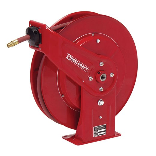 "Reelcraft PW7600OHP Hose Reel 3/8""X50' Pressure Wash, No Hose 5,000 PSI"