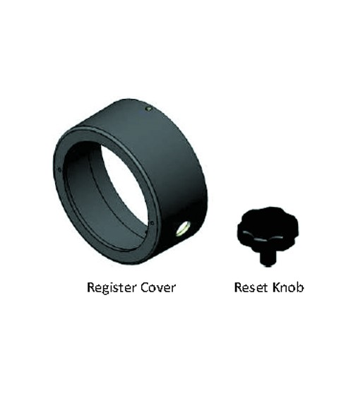 Fill-Rite RK3700 Register Cover and Reset Knob