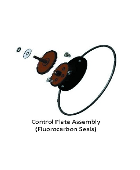 Fill-Rite RK8101 Meter Control Plate Assembly