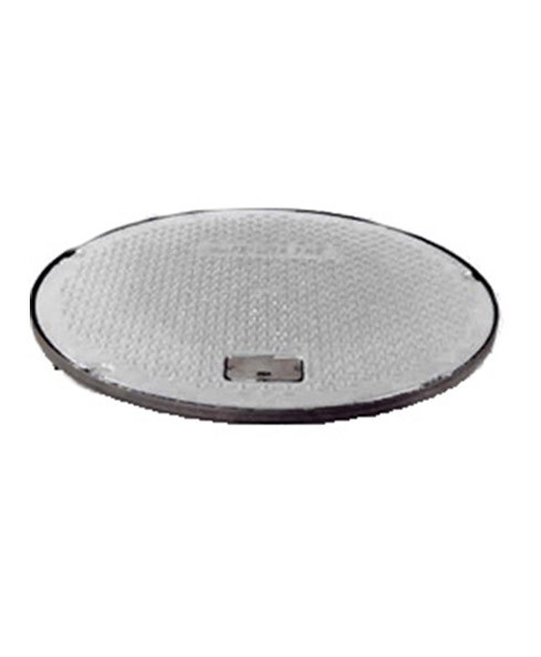 "Franklin Fueling 78130201 12"" Black FRC Round Manway Cover"