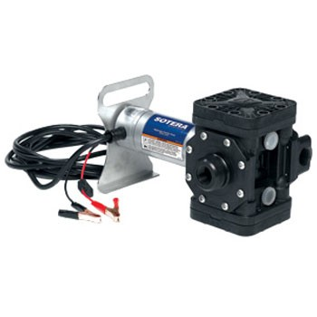 Sotera SS415BX731 12V DC Explosion Proof Diaphragm Pump w/ Motor Bracket