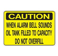 AS-22 Caution Aluminum Sign