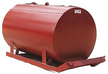 Turner Tanks SK-1000/46-10P Single Wall SKID Tank (1036 Gallons)