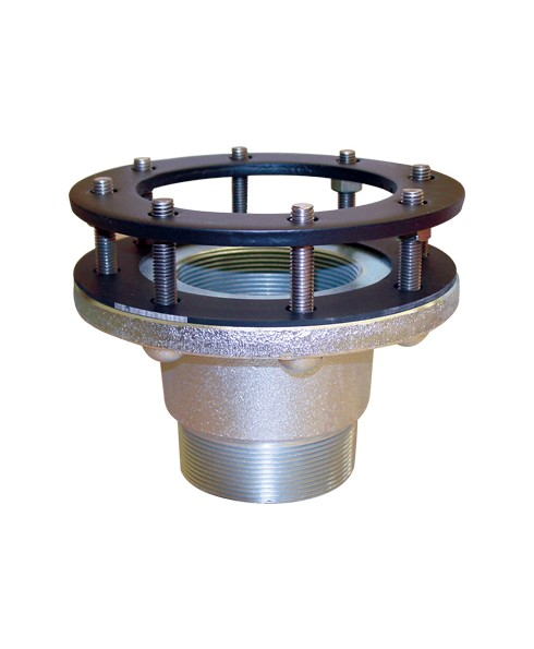 OPW SMF-4EFT 4'' Tank Fitting Adaptor w/ Bolt Style & Extended Flange