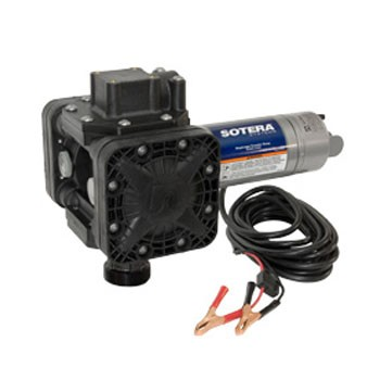 "Sotera SS415B 12V DC Diaphragm Pump with 2"" NPT Bung Adapter"