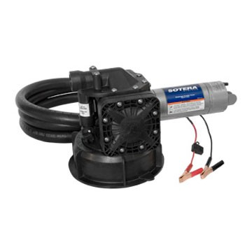 Sotera SS445B 12V DC Mix-N-Go Diaphragm Pump with Recirculation System