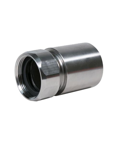 OPW SPC-0150A 1 1/2'' NPT Swedge-On Pipe Coupling w/ Flat Gasket