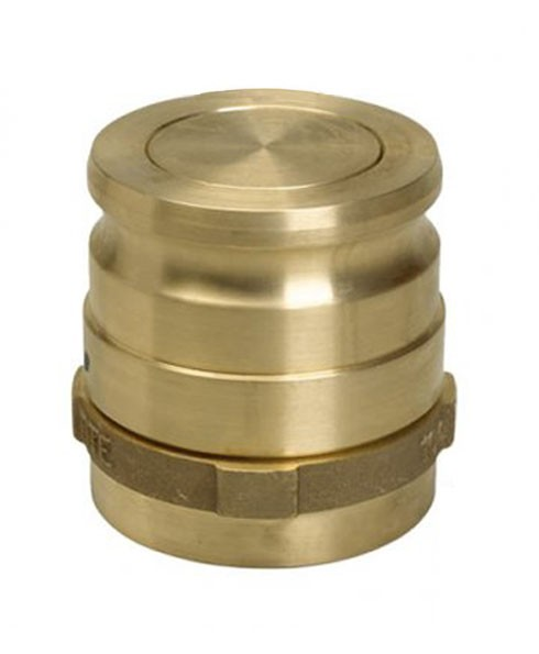 "Franklin Fueling SWV-101-B 4"" NPT Brass Vapor Swivel Adapter"