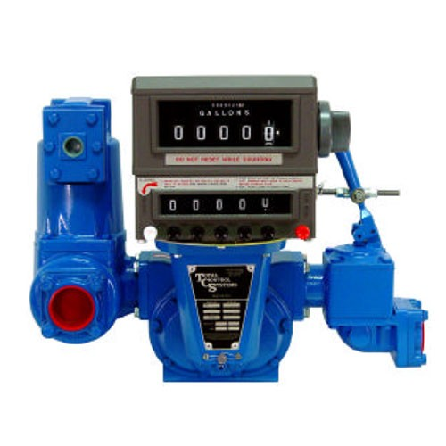 "TCS 700-40-SP-2 - 4"" NPT Flange Connection Rotary Meter & Register (40-500 GPM)"