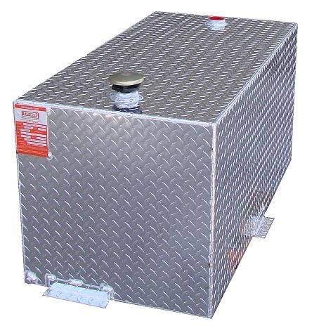 ATI TTR300 - 300 Gallon DOT Certified Rectangle Refueling Tank