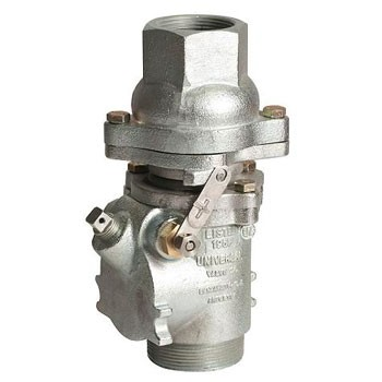 Universal 521DP-RF-15 Female Double Poppet Safety Valve