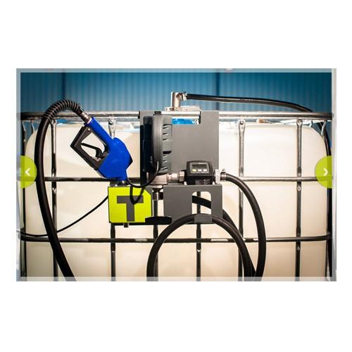 Tecalemit US108601200MM Hornet W85 DEF Tote Pump Pro w/ DEF Meter, Auto Nozzle, RSV Coupler, Hose