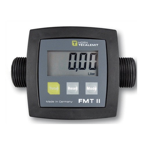 "Tecalemit US253590010 1"" Male BSP FMT II Digital Meter (2-26 GPM)"