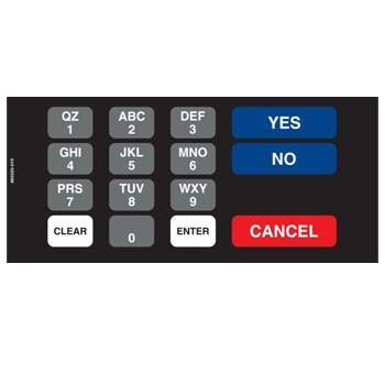 Wayne 883325-010 Keypad Assy., CPM, DTRSM, DES, C