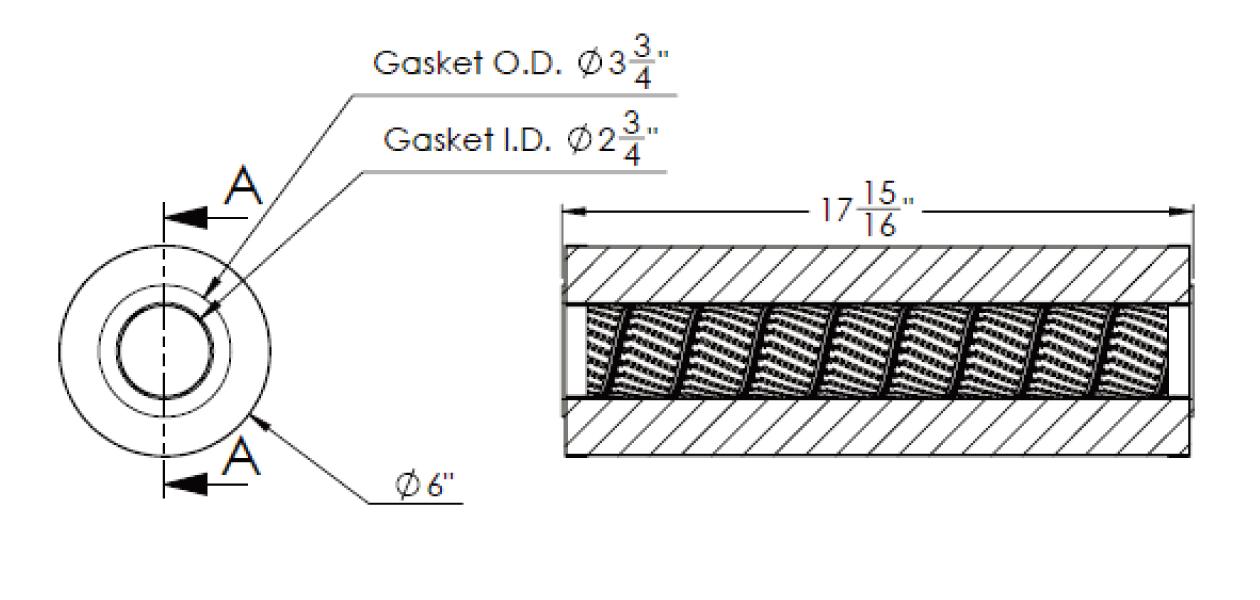 cim-tek 30008 viking e-1300-10 filter element